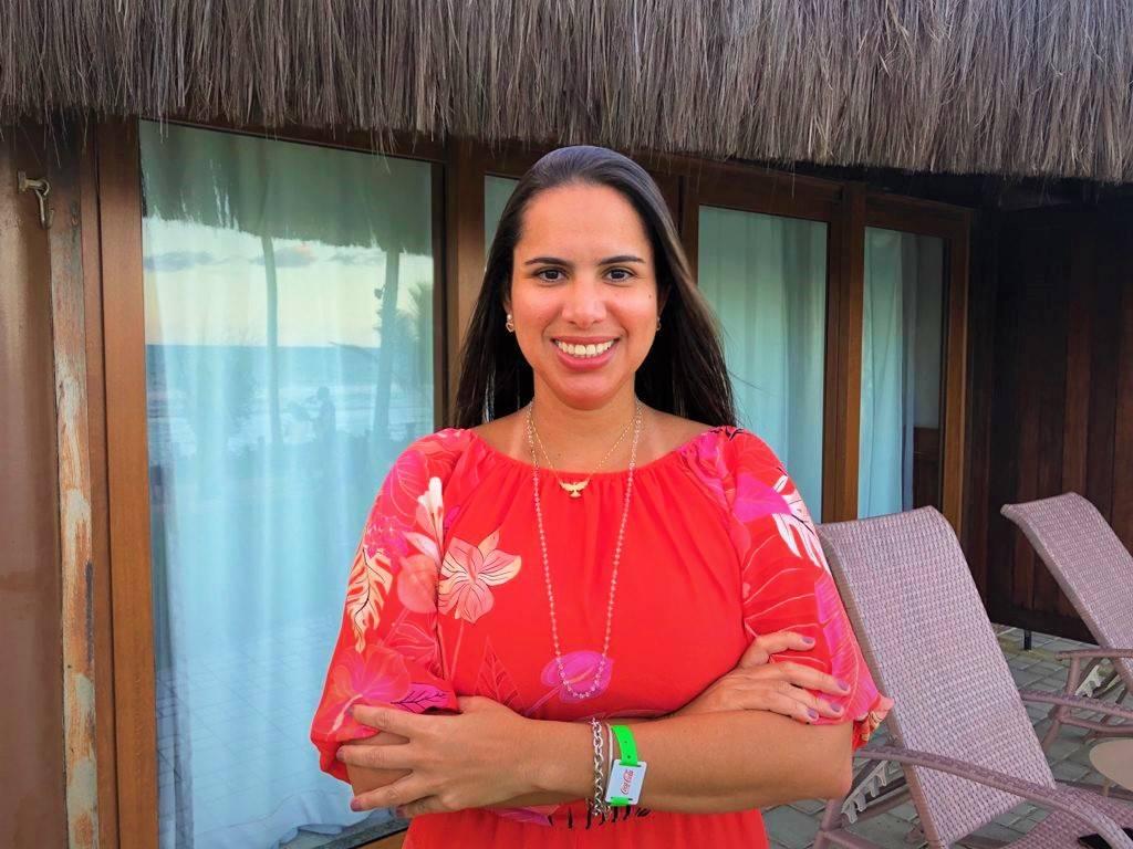 Laura Damascena - Gerente de Eventos do Pontes Hotéis & Resorts